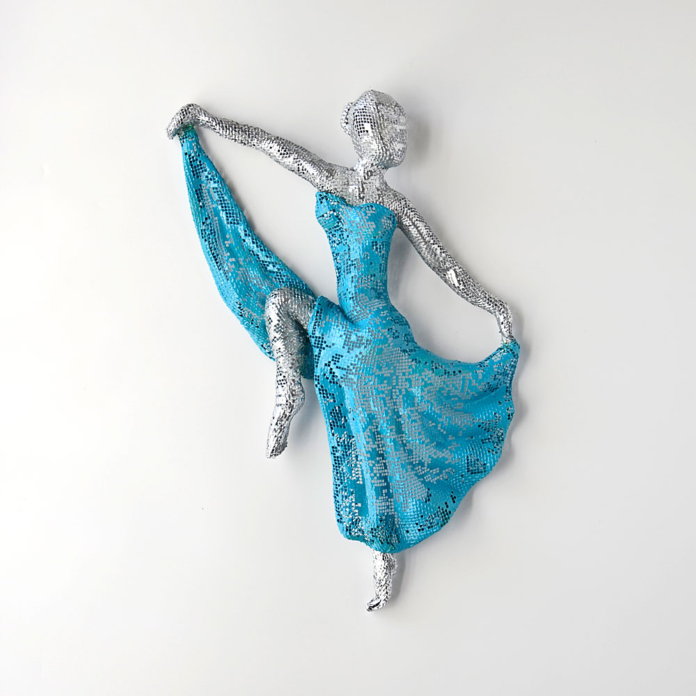 Dancers and Mermaid Art - NUNTCHI | Wire Mesh Sculptures